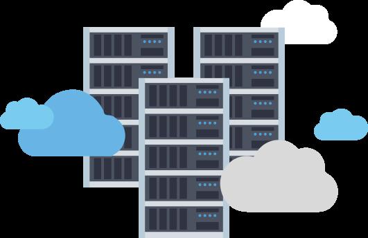 Main image of hosting servers